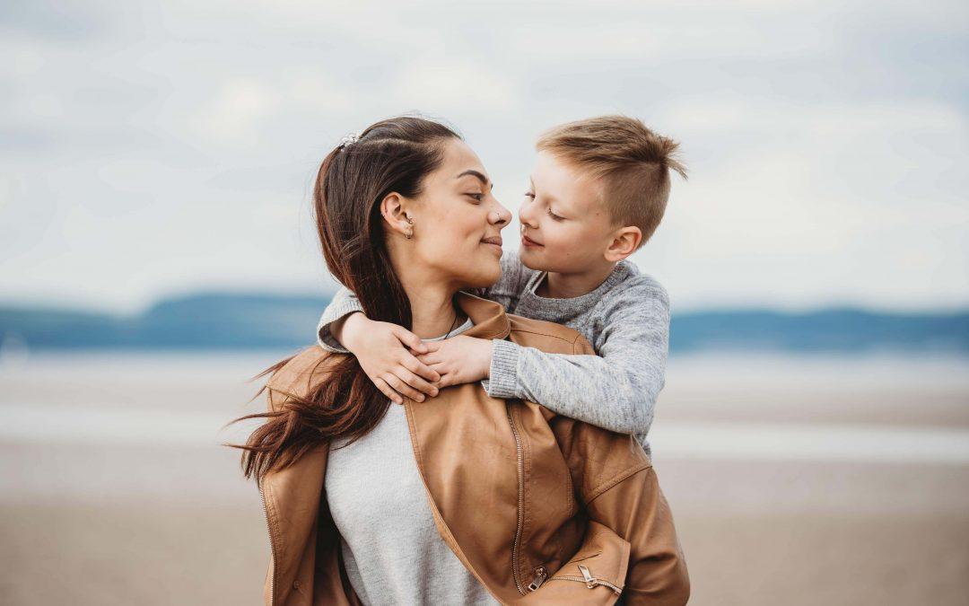 Aisha and her son